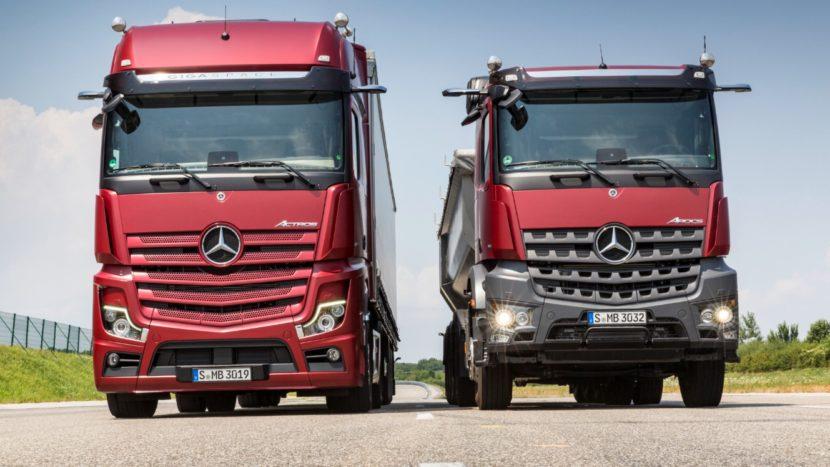 Noile Mercedes-Benz Actros si Arocs
