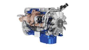 Volvo FH cu I-Save motor Turbo Compound