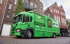 Camion hibrid pentru colectarea selectivă a deșeurilor