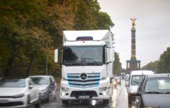 Daimler va oferi doar camioane și autobuze electrice din 2039