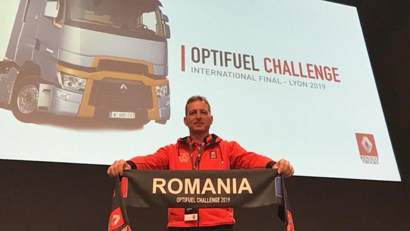 Costin Anghelescu, locul 4 în Optifuel Challenge 2019