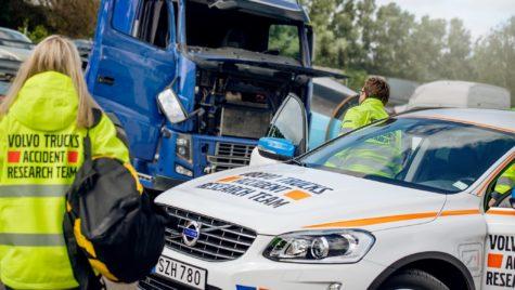 Volvo studiază de 50 de ani accidentele camioanelor