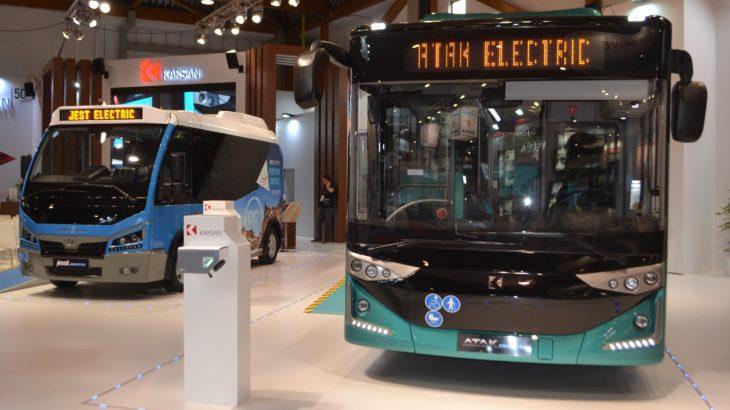 Karsan își expune modelele electrice la Busworld Europe