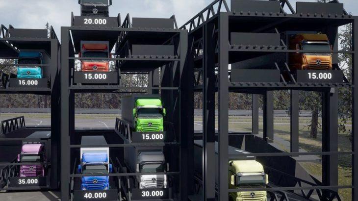 Truck Tower, soluția pentru criza de locuri de parcare