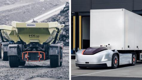 Volvo Group înființează unitatea Autonomous Solutions