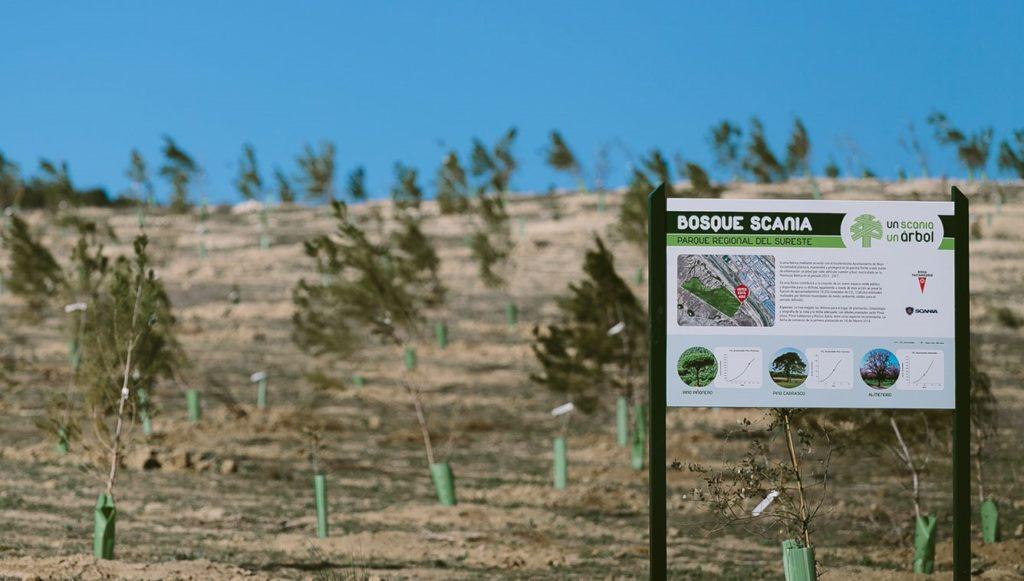 Un copac plantat pentru fiecare camion vândut