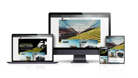 Daimler Truck AG și-a lansat noul website