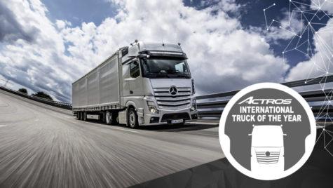 Noul Actros este Camionul Anului 2020