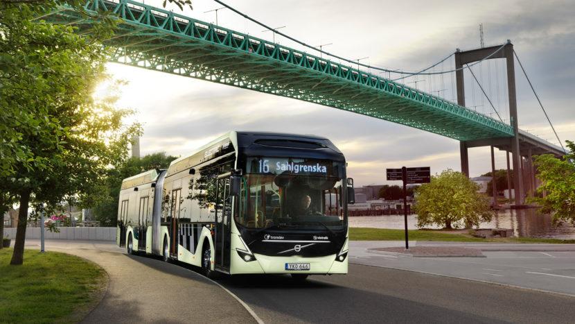Comandă record de autobuze electrice Volvo