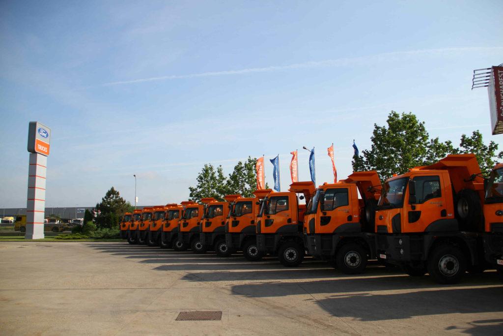 1.000 de camioane Ford Trucks livrate în România