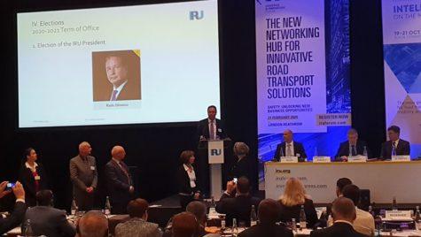 Radu Dinescu, președinte al IRU din 2020