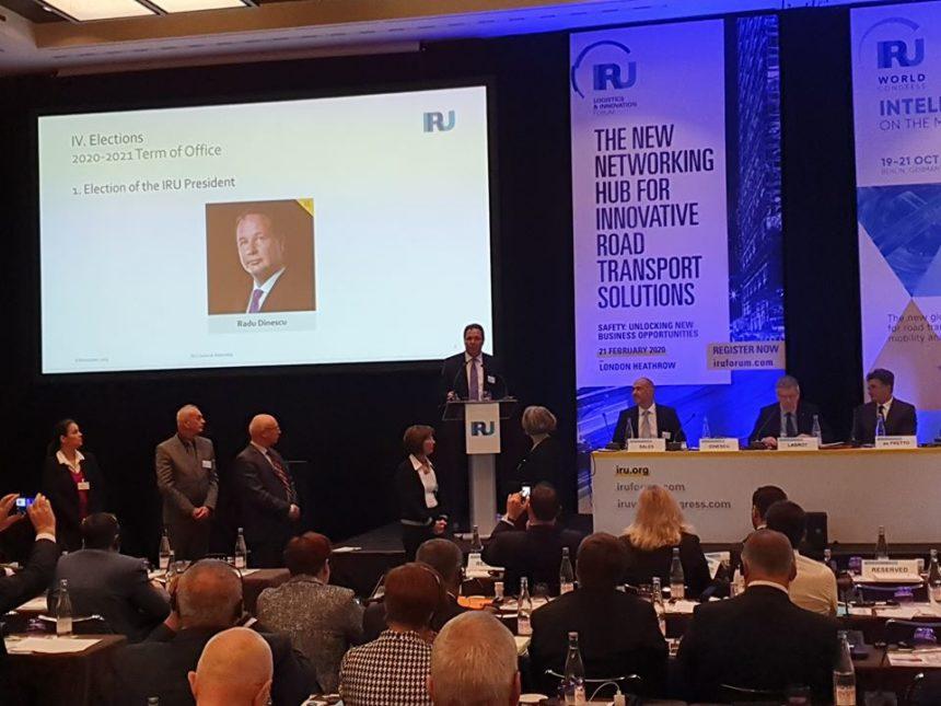 Radu Dinescu președinte IRU