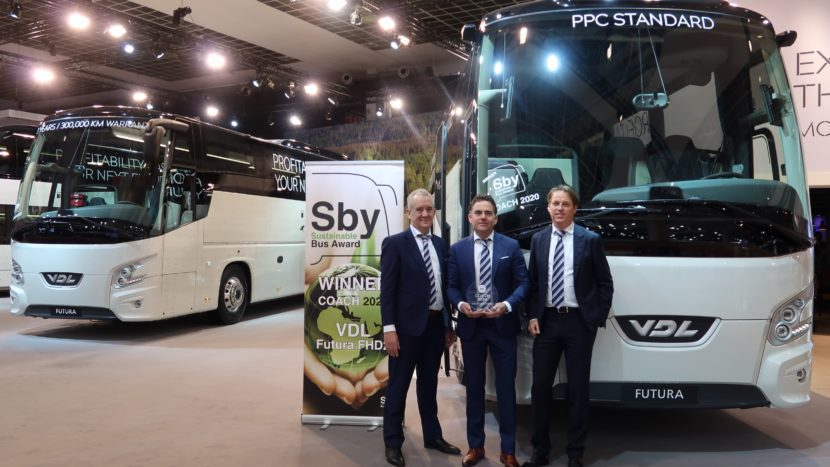 VDL Futura FHD2 votat cel mai sustenabil autocar