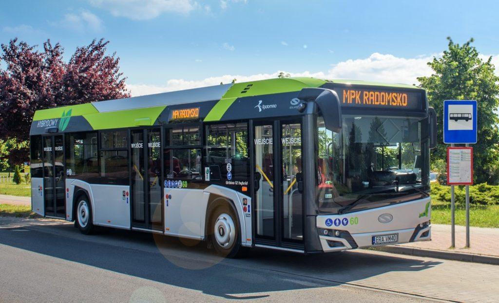 Autobuze hibrid Solaris la Satu Mare