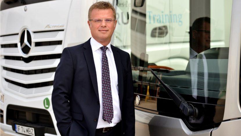 Valeriu Zaharia, Managing Director Divizia Trucks & Buses Mercedes-Benz Romania