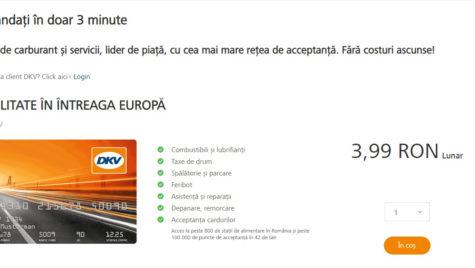 Cardul DKV poate fi comandat online în România