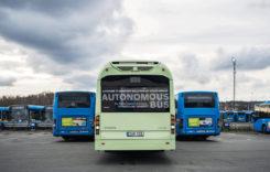 VIDEO: Un autobuz Volvo circulă fără șofer în depou