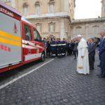 MAN TGE pentru pompierii din Vatican