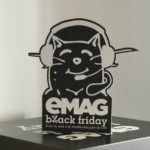 Pregătirile curierilor pentru Black Friday la eMAG