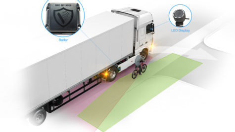 DAF introduce sistemul City Turn Assist