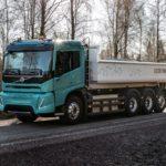 Camioane electrice Volvo pentru construcții