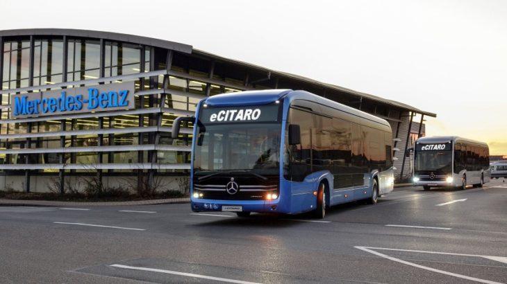 Mercedes-Benz Citaro a ajuns la borna 55.555