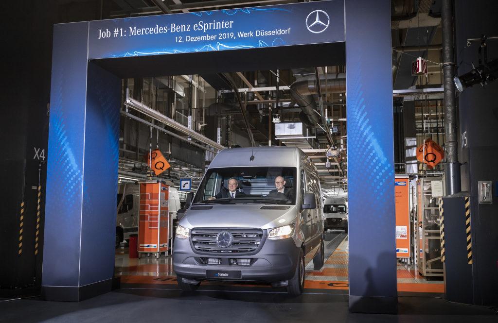 A început producția lui Mercedes-Benz eSprinter