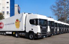 Barilla folosește camioane Scania LNG pentru distribuție