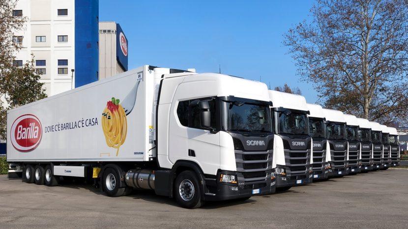 Barilla Scania LNG