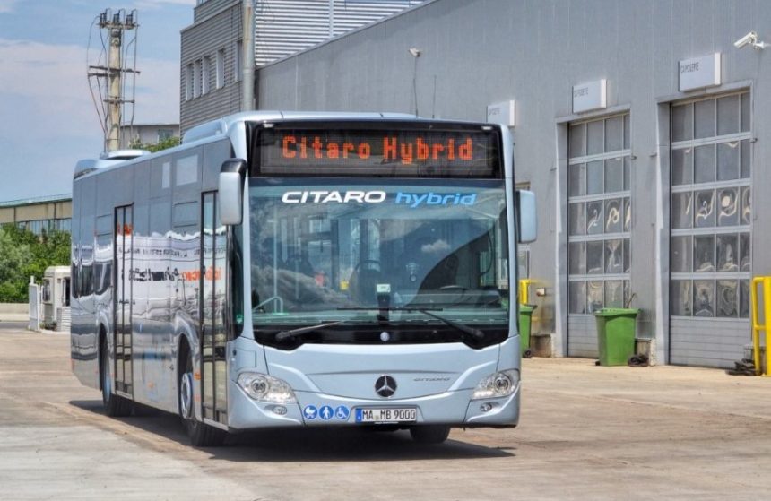 Mercedes-Benz Citaro Hybrid Sinaia