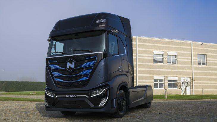 Nikola TRE, prezentat oficial. Cum arată camionul electric cu baterii