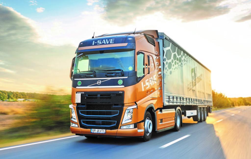 Test Volvo FH I-Save 460 TC