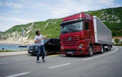Active Brake Assist 5, echipare standard pe Actros și Arocs