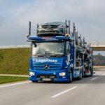 Noul Actros, disponibil și ca transportor auto