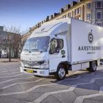 FUSO eCanter a ajuns și la Copenhaga