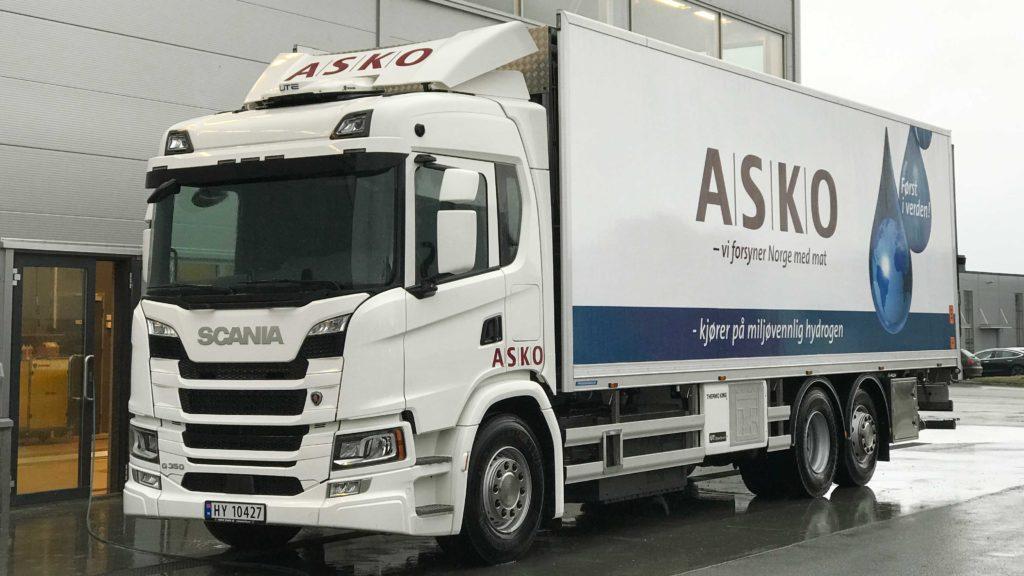 Primele camioane Scania alimentate cu hidrogen