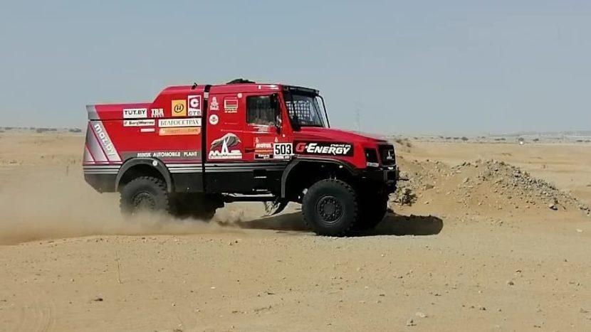 Dakar 2020 Victorie MAZ în Etapa 2