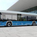 Autobuz electric Solaris de 15 metri lungime