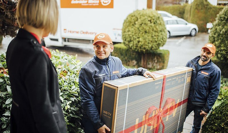 Gebruder Weiss Home Delivery