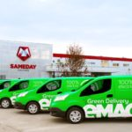 eMAG Green Delivery, livrări de colete cu mașini electrice