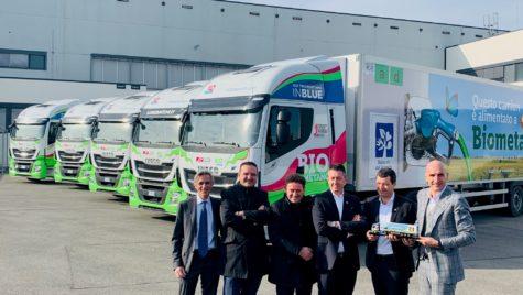 Camioane Iveco alimentate cu biometan pentru Lidl
