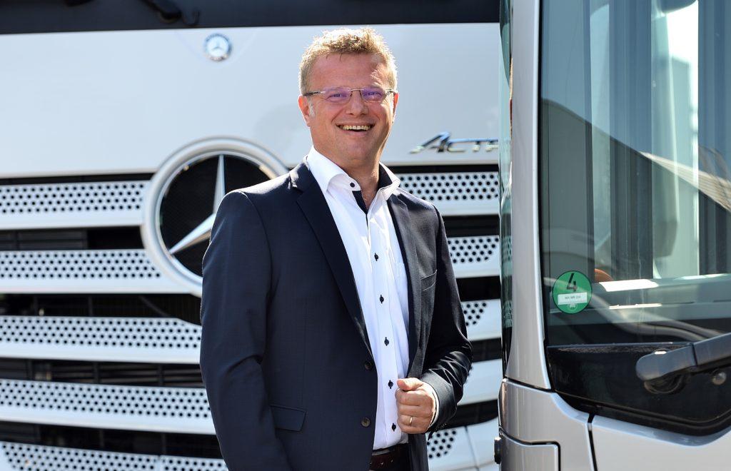Valeriu Zaharia CEO Mercedes-Benz Trucks & Buses România