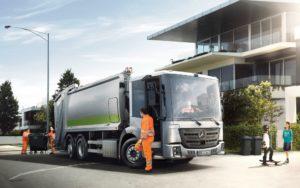 eConic va fi următorul camion electric Mercedes-Benz