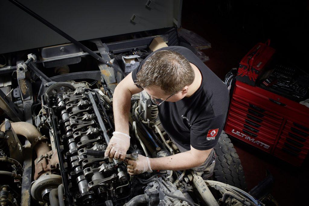 Studiu Renault despre reciclarea camioanelor vechi