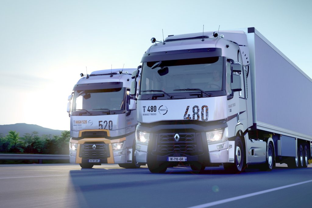 Renault Trucks camioane Start & Drive Excellence Predict