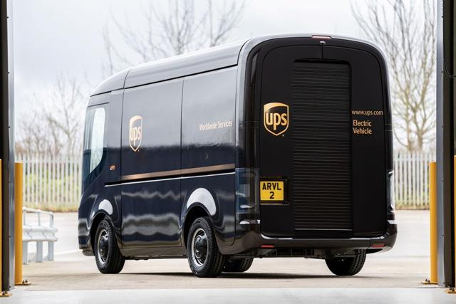 UPS va achiziționa 10.000 de vehicule electrice Arrival