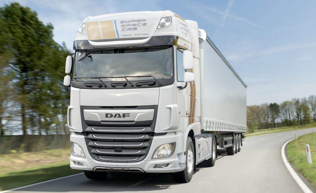 DAF XF Super Space Cab Celebration Edition