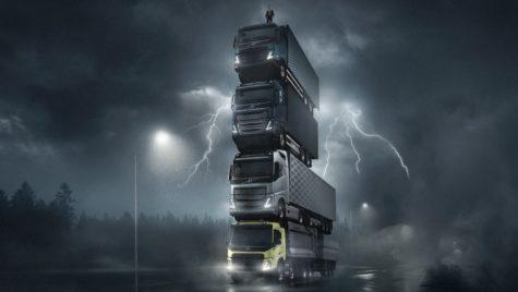 Noile camioane Volvo, lansate mâine. Teaser spectaculos!
