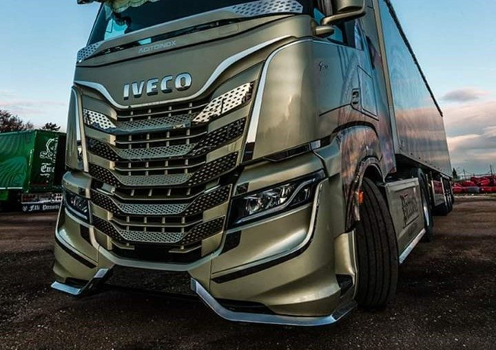 Iveco S-Way tunat