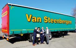 100 de remorci Kögel Cargo Coil pentru Van Steenbergen